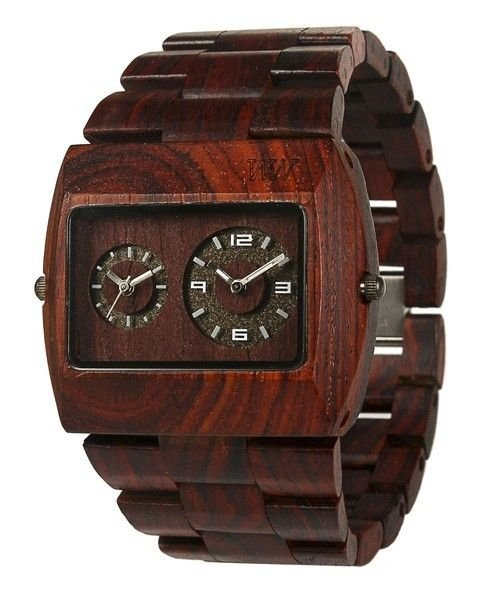 WeWOOD Jupiter Brown Watch - Natural Wood Timepiece