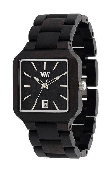 WeWOOD Metis Black Watch - Natural Wood Timepiece