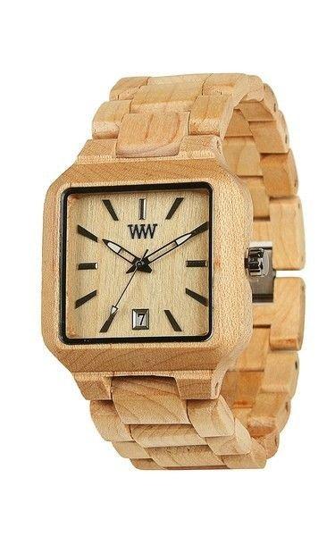 WeWOOD Metis Beige Watch - Natural Wood Timepiece