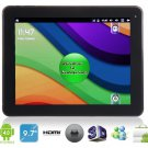 "Benss 9.7"" Android 4.0 A10 1.5GHz External 3G Tablet PC with 2160P HDMI, Wi-Fi"