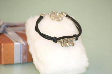 Ethnic Minorities Style Leather Wristband Bracelet metal