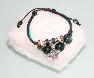 Ethnic Minorities Style Leather metal beads Bracelet