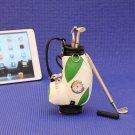 Golf clubs desktop Golf Bag and Pen Gift Set / Clock