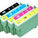 4 X Compatible Epson T0731 , T0732 , T0733 , T0734 B/C/M/Y Ink Cartridge