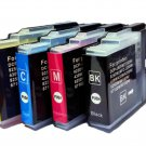 Any 4 PCS Color Compatible Brother LC 40 BK Y M C Ink Cartridge