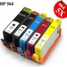 Any 5 X pcs Compatible HP 564XL Ink Cartridge