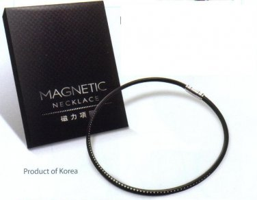 Magnetic Necklace relief from pains supply of external magnetic energy