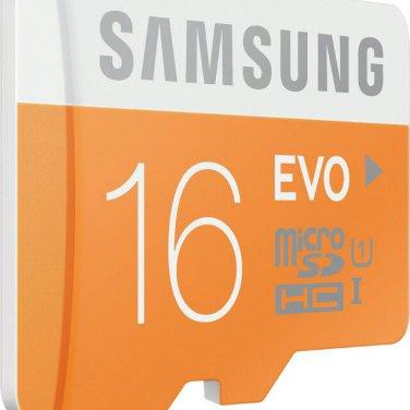 Samsung Micro SD SDHC 16G Evo Class 10 Memory Card flash memory card