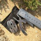 Portable Multifunction Folding Pocket Tools Plier Knife Keychain Screwdriver