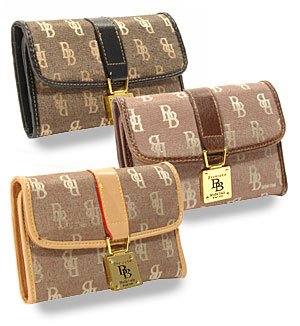 Signature Jacquard Fashion Wallet