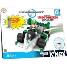 Luigi's Motorized Sprinter Kart Building Set