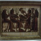 Egyptian  Papyrus Painting Signed By The Artist