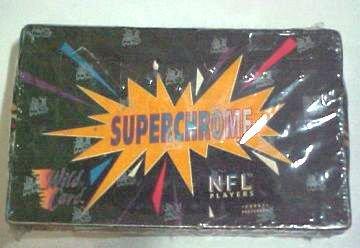 1993 NFL Superchrome Wild Card Unopen Box