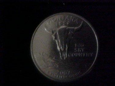 U.S.  2007 Montana State Quarter