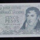 Argentina 5 Peso 1974-76