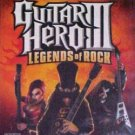 Guitar Hero III: Legends of Rock Nintendo Wii