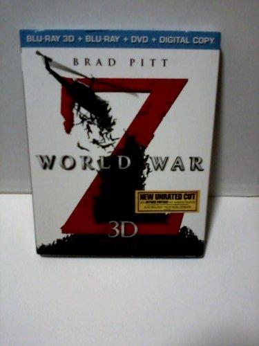 world war Z dvd /3d /digital /copy