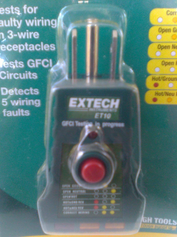 GFCI Receptacle tester