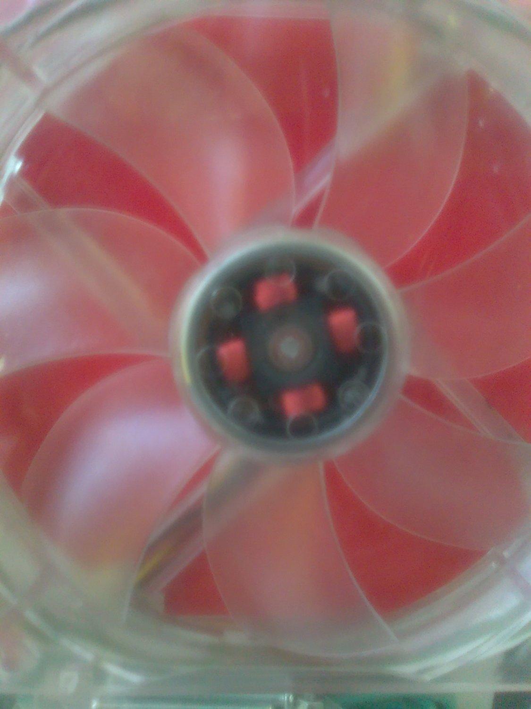 Thunderblade 120mm blue led fan