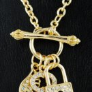 Key and Lock Necklace