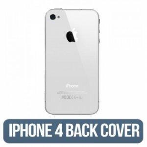 IPHONE 4g (CDMA) Back Glass White