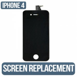 IPHONE 4s (AT&T/Sprint/Verizon) Black LCD Assembly