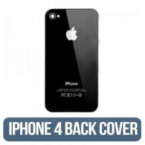 IPHONE 4g (GSM) Back Glass Black