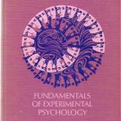 Fundamentals of Experimental Psychology by Charles L. Sheridan
