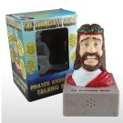 SUBMISSIVE JESUS Prayer answering talking head: religious gag gift novelty item