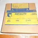"""Lot 46 Norton Aluminum oxide sanding belts 3/16"""" x 75"""" long , 500 grit"""