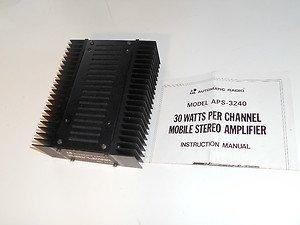 Automatic Radio 60 Watt Power Amplifier 12 VDC NEW