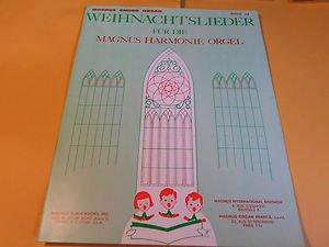 Magnus Chord Organ Music Book Weihnachtslieder Buch # 34