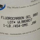 NYE FLUOROCARBON GEL 880 , 1 LB. / 454 - GMS , JAR   Lot # WL 980807