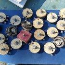 Lot Ohmite Rheostats 3.5 Amp , 4 ohms , some rust , minor chips