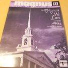 Magnus 12-16 Chord Organ Music Book Hymns we Love Book #202