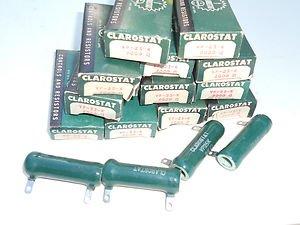 Lot 16 Clarostat resistors  VP - 25 - K , 2000 OHM