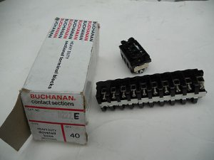 LOT 34 , Buchanan Contact Sections Cat. No. 0222E Dovetail Base