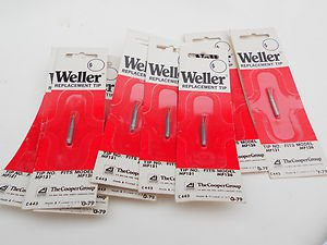 Lot 10 Weller replacement soldering tip T 132   fits model MP 126