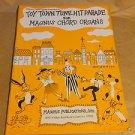 Magnus Organ Books Toy Town Tune Hit Parade # 653