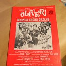 Magnus Organ Books Oliver , Lionel Bart's ,  Book No. 655 , 1965