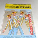 Audion Chord Organ Book No. 1166 , Gay 90's Songs