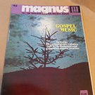 Magnus Chord Organ Music Book #42 Gospel Music 1970