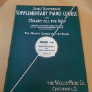 John Thompson's Supplementary Piano Course Book 1 A , Book 1B