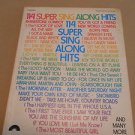 114 Super Sing Along Hits 1975 Screen Gems