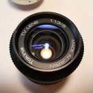 Tokina wide angle TV Lens 1: 1.3/8