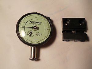 """Federal dial indicator C 1/2 K , .00005"""" , miracle movement"""