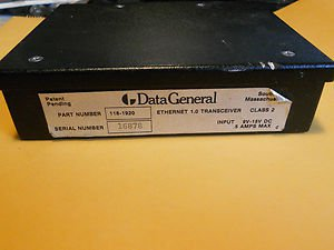 Data General Ethernet Transceiver 1.0 , p/n 118-1920 , Class 2