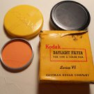 Kodak Daylight filter series VI , for Type A color film
