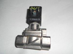 "Granzow slolenoid valve stainless steel    1/2"" npt pipe size model 21X2KT120"