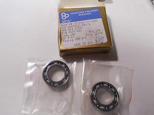 MPB Miniature precision bearing 1 pair ,  p/n 10270162 - 003 G